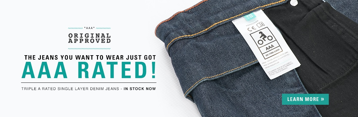 Oxford Original AAA Motorcycle Jeans Web Banner