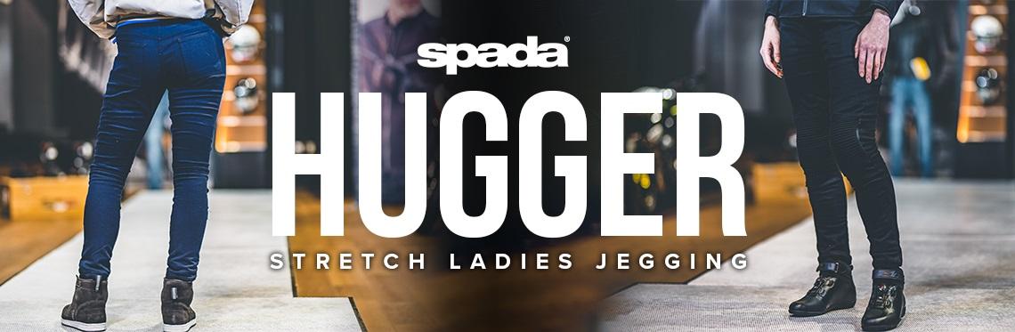 Spada Hugger CE Motorcycle Jeggings Web Banner